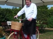 Michael auf dem Fahrrad