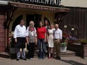 Das Harzer Hof Team mit Heike Götz