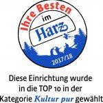 Hoftheater Scharzfeld belegt Platz 3 in Kultur pur im Harz