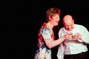 Das Hotelier-Ehepaar vom Harzer Hof steht selbst auf der Bühne im hoteleigenen hoftheater Scharzfeld