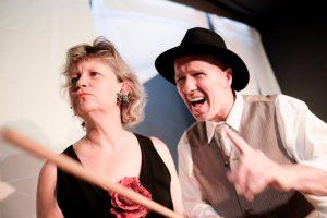 Zwei wie Bonnie und Clyde im hoftheater Scharzfeld