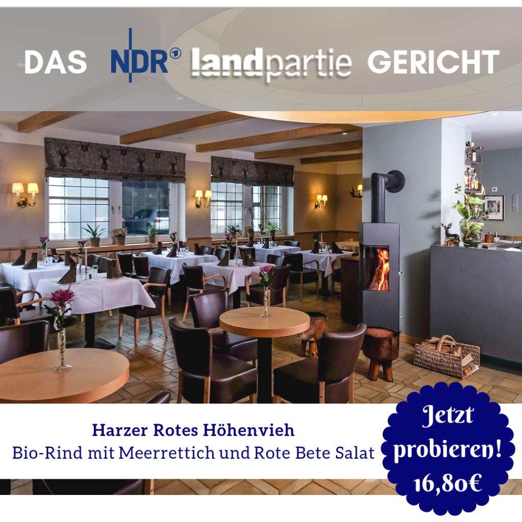 Harzer Hof NDR Landpartie Gericht probieren